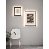 MARKSLOJD 107362   Frame-MS Markslojd stenové svietidlo prepínač 1x LED 400lm čierna