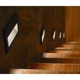 NOWODVORSKI 3412 | Basalt Nowodvorski zabudovateľné svietidlo 1x E14 IP44 čierna