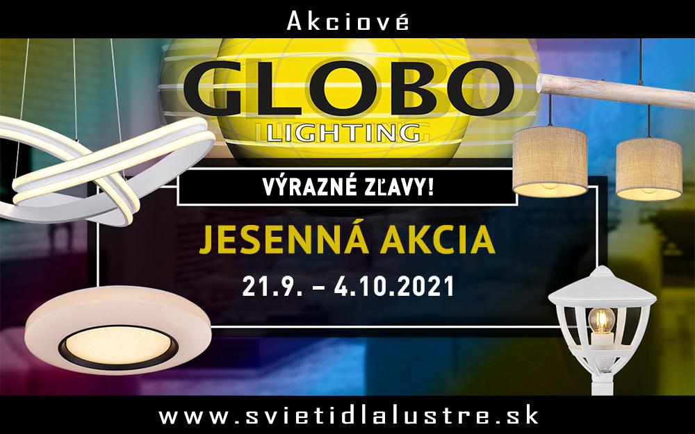 Globo - Akciové svietidlá!