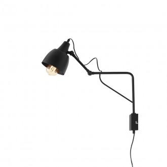 ALDEX 1002C1_M | Soho-AL Aldex rameno stenové svietidlo otočné prvky 1x E27 čierna