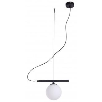 ALDEX 1006G1 | Beryl Aldex visiace svietidlo 1x E14 čierna, biela