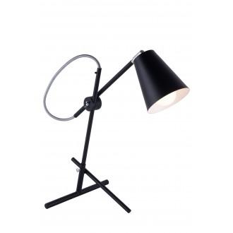 ALDEX 1008B1 | Arte Aldex stolové svietidlo 55,5cm prepínač na vedení otočné prvky 1x E27 čierna, chróm, biela