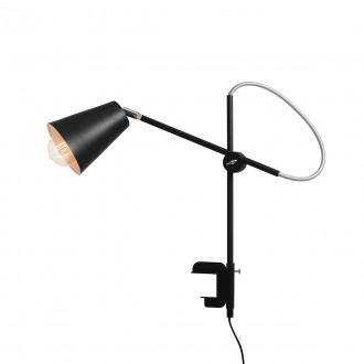 ALDEX 1008B1_U | Arte Aldex stolové, zverákové svietidlo 50cm prepínač na vedení otočné prvky 1x E27 čierna, chróm, biela