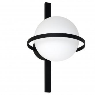ALDEX 1014C | Drops-AL Aldex stenové, stropné svietidlo 1x E14 čierna, biela