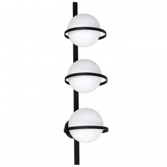 ALDEX 1014Y | Drops-AL Aldex stenové, stropné svietidlo 3x E14 čierna, biela