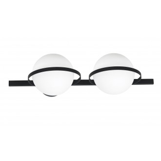 ALDEX 1015D | Drops-AL Aldex stenové, stropné svietidlo 2x E14 čierna, biela