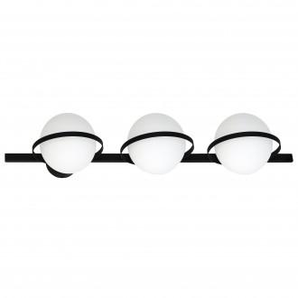 ALDEX 1015Y | Drops-AL Aldex stenové, stropné svietidlo 3x E14 čierna, biela