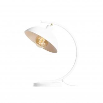 ALDEX 1036B | Espace Aldex stolové svietidlo 40cm prepínač otočné prvky 1x E27 biela, chróm