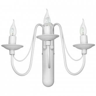ALDEX 397Y | Roza Aldex rameno stenové svietidlo 3x E14 biela