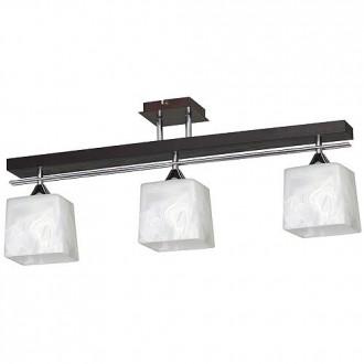 ALDEX 527E | FabioA Aldex stropné svietidlo 3x E27 čierna, chróm, biela
