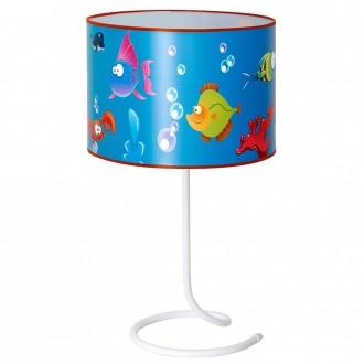 ALDEX 657B10 | Akwarium Aldex stolové svietidlo prepínač 1x E14 modrá, viacferebné