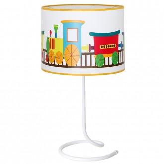 ALDEX 657B11 | Lokomoto_I Aldex stolové svietidlo prepínač 1x E14 biela, viacferebné