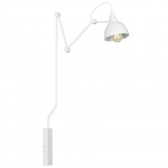 ALDEX 814C1 | Aida-Bibi Aldex rameno stenové svietidlo otočné prvky 1x E27 biela