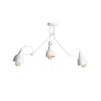 ALDEX 814PL_E | Aida-Bibi Aldex stropné svietidlo otočné prvky 3x E27 biela