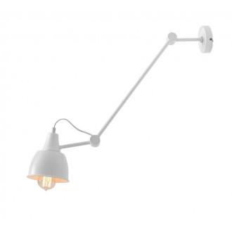 ALDEX 814PL_G | Aida-Bibi Aldex stenové, stropné svietidlo otočné prvky 1x E27 biela