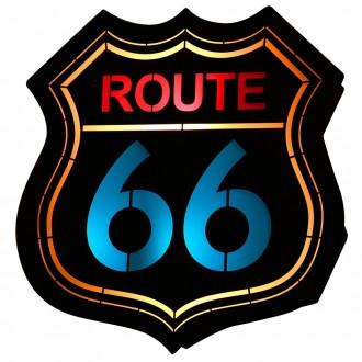ALDEX 821S2 | Route-66 Aldex stenové svietidlo 1x E14 čierna, viacferebné