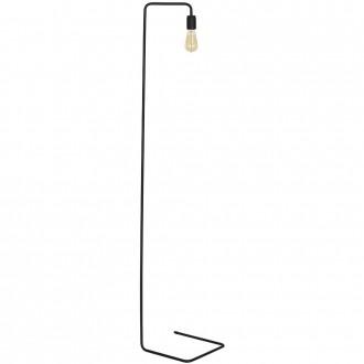 ALDEX 857A1   EkoA Aldex stojaté svietidlo 160cm prepínač 1x E27 čierna