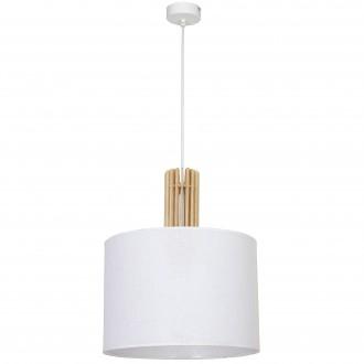 ALDEX 903G | Castro Aldex visiace svietidlo 1x E27 biela, drevo