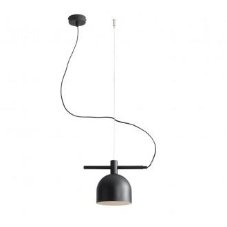 ALDEX 976G1 | Beryl Aldex visiace svietidlo 1x E27 čierna, biela