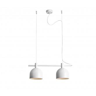 ALDEX 976H | Beryl Aldex visiace svietidlo 2x E27 biela