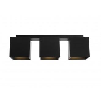 ALDEX 982PL/E1 | Bit-AL Aldex stropné svietidlo 3x GU10 čierna