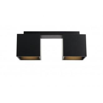 ALDEX 982PL/H1 | Bit-AL Aldex stropné svietidlo 2x GU10 čierna
