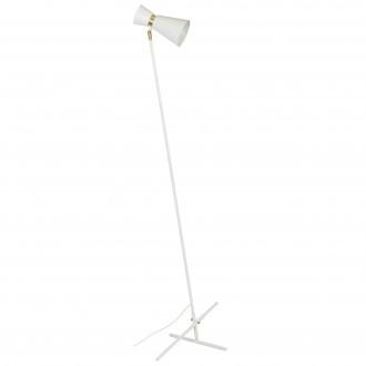 ALDEX 988A | Kedar Aldex stojaté svietidlo 161cm prepínač 1x E27 biela, zlatý