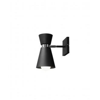 ALDEX 989C1 | Kedar Aldex rameno stenové svietidlo otočné prvky 1x E27 čierna, chróm
