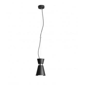 ALDEX 989G1 | Kedar Aldex visiace svietidlo 1x E27 čierna, chróm