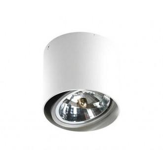 AZZARDO 1356 | Alix_Alex Azzardo stropné svietidlo hriadeľ regulovateľná intenzita svetla, otáčateľný svetelný zdroj 1x G53 / AR111 biela