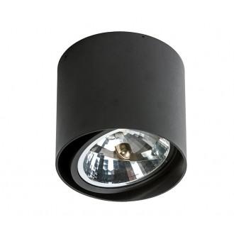 AZZARDO 1357 | Alix_Alex Azzardo stropné svietidlo hriadeľ regulovateľná intenzita svetla, otáčateľný svetelný zdroj 1x G53 / AR111 čierna