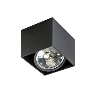 AZZARDO 1358 | Alix_Alex Azzardo stropné svietidlo obdĺžnik regulovateľná intenzita svetla, otáčateľný svetelný zdroj 1x G53 / AR111 čierna
