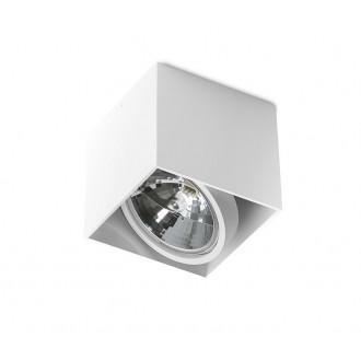 AZZARDO 1359 | Alix_Alex Azzardo stropné svietidlo obdĺžnik regulovateľná intenzita svetla, otáčateľný svetelný zdroj 1x G53 / AR111 biela