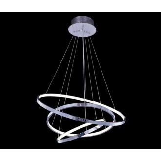 AZZARDO 1431 | Wheel Azzardo visiace svietidlo vedenie je možné zkrátiť 1x LED 4600lm 3000K chróm, biela