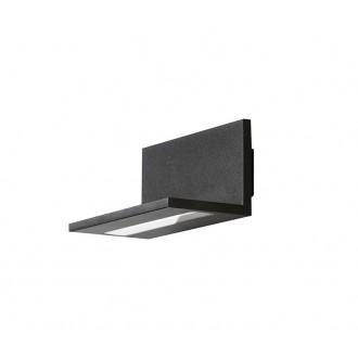 AZZARDO 2204 | Latona Azzardo stenové svietidlo 1x LED 800lm 3000K čierna