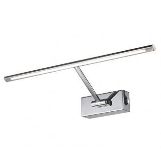 AZZARDO 2645 | Monalisa-AZ Azzardo osvetleni zrkadla svietidlo sklápacie 1x LED 275lm 3000K chróm