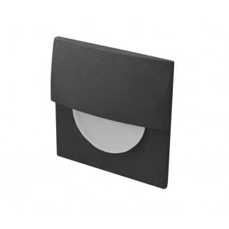 AZZARDO 2768 | Sane Azzardo zabudovateľné svietidlo 1x LED 170lm 3000K čierna