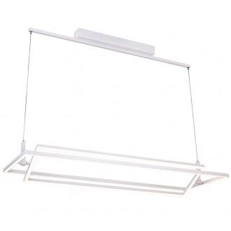 AZZARDO 2911   Viena Azzardo visiace svietidlo regulovateľná intenzita svetla 1x LED 4200lm 3000K biela