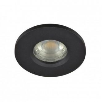 AZZARDO 3017 | Ika-AZ Azzardo zabudovateľné svietidlo 1x GU10 IP65 čierna