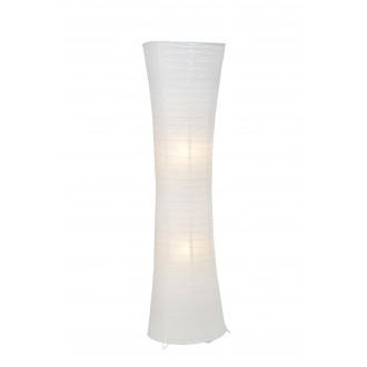BRILLIANT 92961/05 | Becca Brilliant stojaté svietidlo 125cm nožný vypínač 2x E27 biela