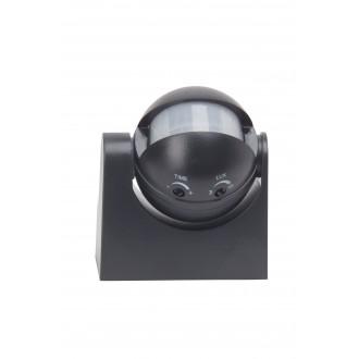BRILLIANT 96193/06 | Brilliant pohybový senzor svietidlo IP44 čierna