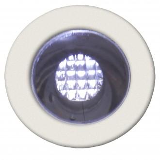BRILLIANT G03090/82 | Cosa15 Brilliant zabudovateľné svietidlo 10 kusová sada Ø15mm 15x15mm 10x LED 10lm 7500K IP44 zušľachtená oceľ, nehrdzavejúca oceľ, biela