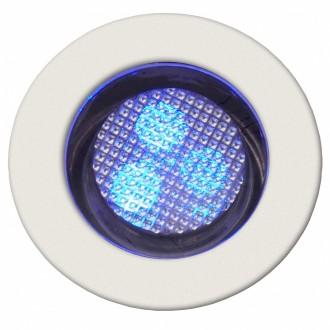 BRILLIANT G03093/73 | Cosa30 Brilliant zabudovateľné svietidlo 10 kusová sada Ø30mm 30x30mm 10x LED IP44 zušľachtená oceľ, nehrdzavejúca oceľ, modrá