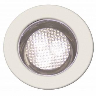 BRILLIANT G03093/75 | Cosa30 Brilliant zabudovateľné svietidlo 10 kusová sada Ø30mm 30x30mm 10x LED 10lm 2700K IP44 zušľachtená oceľ, nehrdzavejúca oceľ, s teplým bielym svetlom