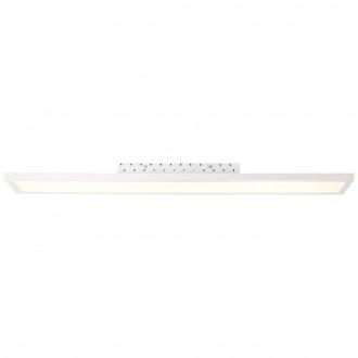 BRILLIANT G20888/05 | Smooth Brilliant stropné svietidlo diaľkový ovládač regulovateľná intenzita svetla 1x LED 2350lm 2700 <-> 6200K biela
