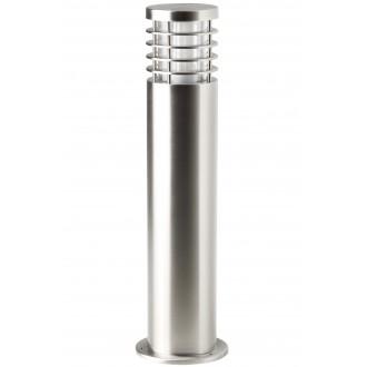 BRILLIANT G43284/82 | Finnigan Brilliant stojaté svietidlo hriadeľ 50cm 1x E27 IP44 chróm, priesvitné