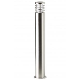 BRILLIANT G43285/82   Finnigan Brilliant stojaté svietidlo hriadeľ 80cm 1x E27 IP44 chróm, priesvitné