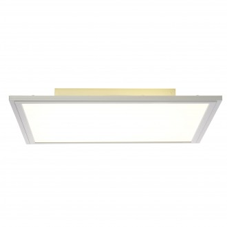 BRILLIANT G90037/13 | Flat-BRI Brilliant stropné svietidlo 1x LED 2550lm 3000K hliník, biela
