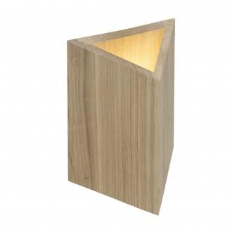 BRILLIANT G90074/35 | Mark-BRI Brilliant stolové svietidlo 27cm prepínač na vedení 2x LED 720lm 3000K dub