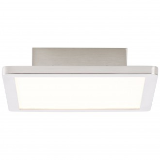 BRILLIANT G90116/13 | Scope-BRI Brilliant stropné svietidlo 1x LED 950lm 3000K matný nikel, biela